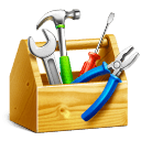 Image of toolbox full of WordPress marketing tools